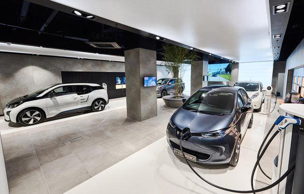 Inovație în Londra: showroom multi-marcă dedicat exclusiv mașinilor electrice - Poza 1