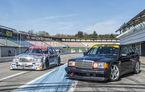 Cine n-are bătrâni să-și facă: Mercedes-Benz a produs un 190 E 2.5 - 16 Evo II dedicat zilelor de circuit