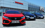 Găsește diferențele! Noul Honda Civic va fi așezat lângă ultimele două generații în cadrul unui eveniment românesc