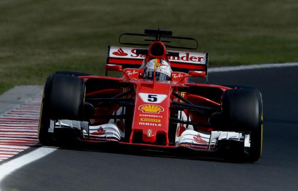 Vettel, pole position în Ungaria în fața lui Raikkonen! Bottas și Hamilton, pe a doua linie a grilei de start - Poza 1