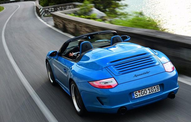 Surprize din partea Porsche: nemții ar putea lansa un 911 Speedster la Frankfurt - Poza 1