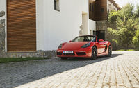 Test drive Porsche 718 Boxster
