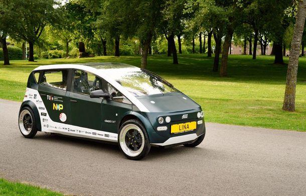 Mașina biodegradabilă a fost inventată în Olanda: Lina este electrică și a fost construită din sfeclă de zahăr și pânză de in - Poza 7