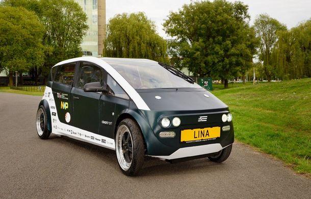 Mașina biodegradabilă a fost inventată în Olanda: Lina este electrică și a fost construită din sfeclă de zahăr și pânză de in - Poza 6