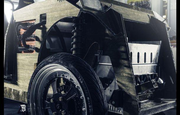 Mașina biodegradabilă a fost inventată în Olanda: Lina este electrică și a fost construită din sfeclă de zahăr și pânză de in - Poza 2
