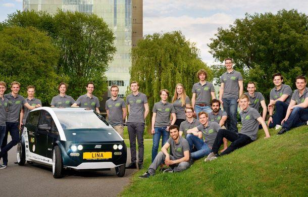 Mașina biodegradabilă a fost inventată în Olanda: Lina este electrică și a fost construită din sfeclă de zahăr și pânză de in - Poza 4