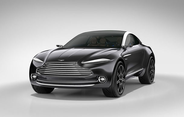 Crossover-ul Aston Martin DBX ar putea fi printre primele mașini din lume fără oglinzi retrovizoare - Poza 1