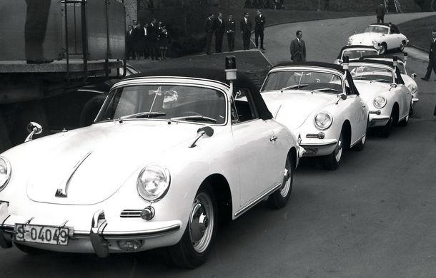 Cea mai mare flotă de mașini de poliție Porsche din lume vine din Olanda: 507 mașini în 50 de ani - Poza 5