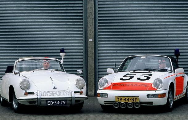 Cea mai mare flotă de mașini de poliție Porsche din lume vine din Olanda: 507 mașini în 50 de ani - Poza 2