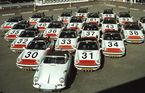 Cea mai mare flotă de mașini de poliție Porsche din lume vine din Olanda: 507 mașini în 50 ...