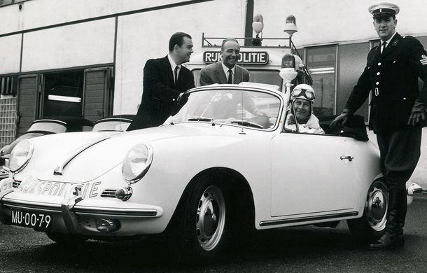 Cea mai mare flotă de mașini de poliție Porsche din lume vine din Olanda: 507 mașini în 50 de ani - Poza 4