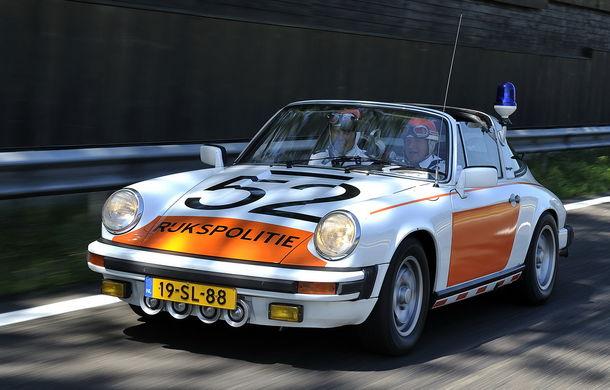 Cea mai mare flotă de mașini de poliție Porsche din lume vine din Olanda: 507 mașini în 50 de ani - Poza 6
