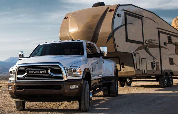 Ram rescrie legile din gama pick-up: versiunea 2018 a lui Ram 3500 HD are 1.261 Nm și poate tracta peste 13.600 de kilograme - Poza 1
