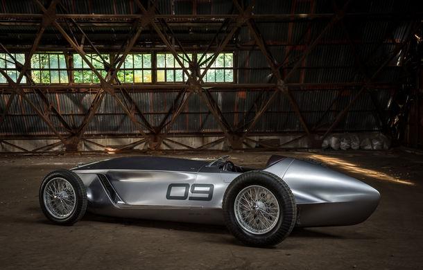 Concept inspirat din motorsport: Infiniti aduce Prototype 9 în cadrul Concursului de Eleganță de la Pebble Beach - Poza 9