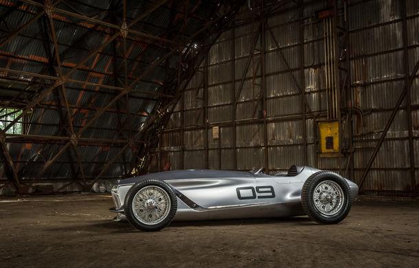 Concept inspirat din motorsport: Infiniti aduce Prototype 9 în cadrul Concursului de Eleganță de la Pebble Beach - Poza 7