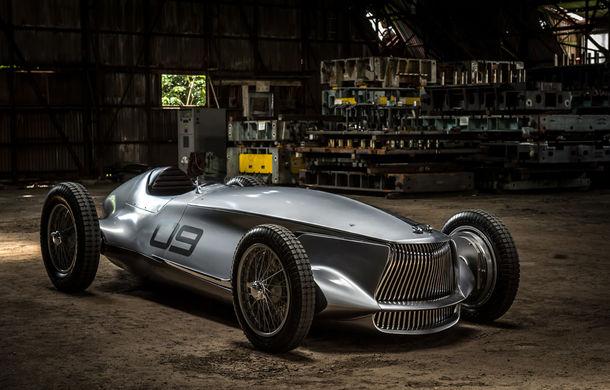 Concept inspirat din motorsport: Infiniti aduce Prototype 9 în cadrul Concursului de Eleganță de la Pebble Beach - Poza 3