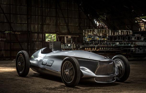 Concept inspirat din motorsport: Infiniti aduce Prototype 9 în cadrul Concursului de Eleganță de la Pebble Beach - Poza 1