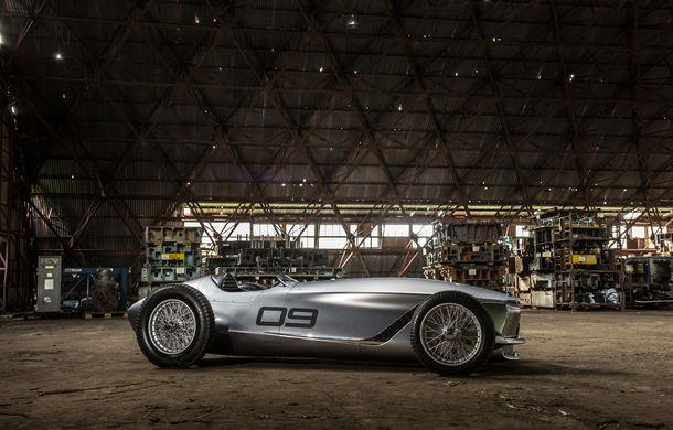 Concept inspirat din motorsport: Infiniti aduce Prototype 9 în cadrul Concursului de Eleganță de la Pebble Beach - Poza 12