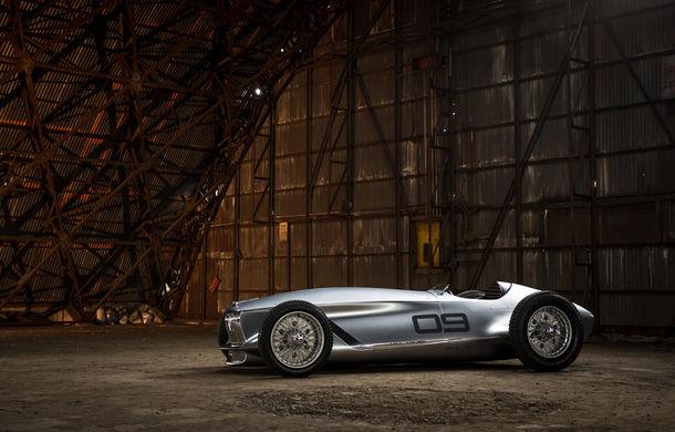 Concept inspirat din motorsport: Infiniti aduce Prototype 9 în cadrul Concursului de Eleganță de la Pebble Beach - Poza 5