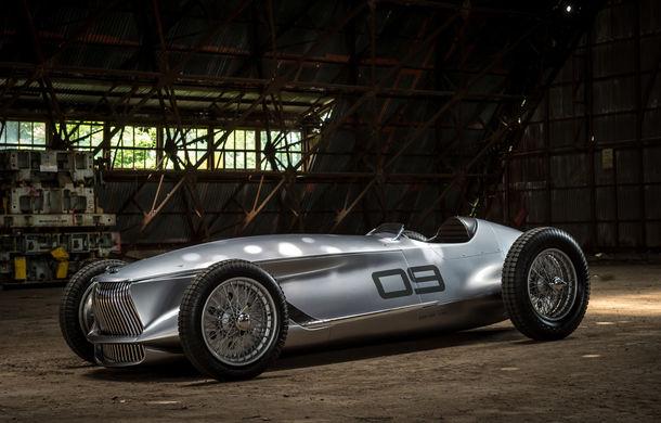 Concept inspirat din motorsport: Infiniti aduce Prototype 9 în cadrul Concursului de Eleganță de la Pebble Beach - Poza 2