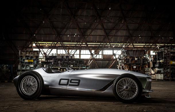 Concept inspirat din motorsport: Infiniti aduce Prototype 9 în cadrul Concursului de Eleganță de la Pebble Beach - Poza 11