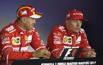 Raikkonen și-a prelungit contractul cu Ferrari pentru sezonul 2018. Nicio veste despre Vettel