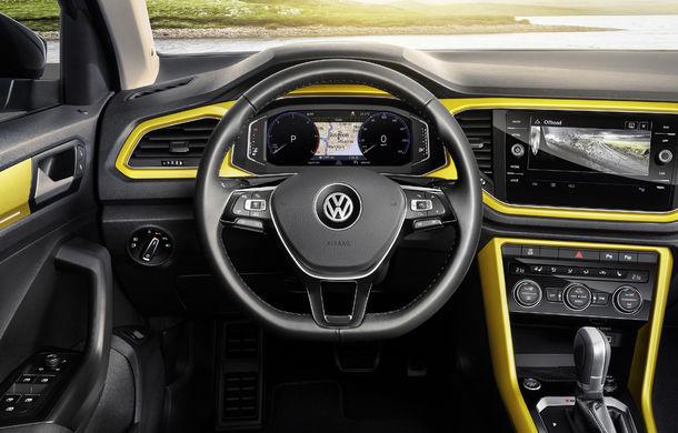 Volkswagen T-Roc: fratele mai mic al lui Tiguan a fost prezentat oficial - Poza 11