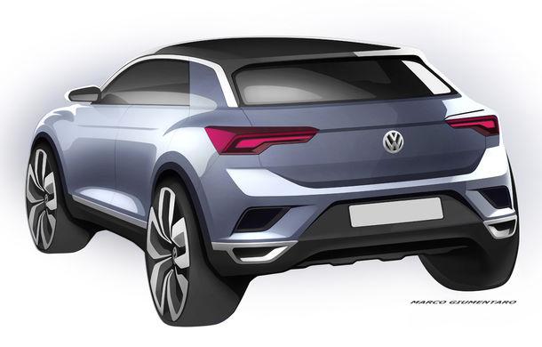 Volkswagen T-Roc: fratele mai mic al lui Tiguan a fost prezentat oficial - Poza 30