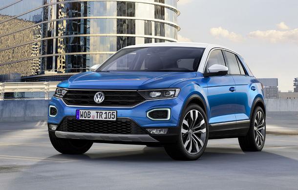 Volkswagen T-Roc: fratele mai mic al lui Tiguan a fost prezentat oficial - Poza 22