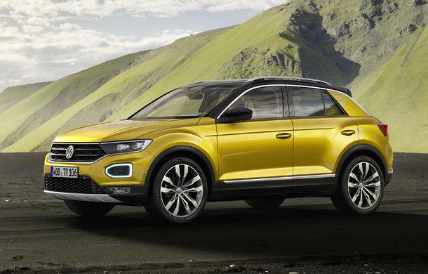 Volkswagen T-Roc: fratele mai mic al lui Tiguan a fost prezentat oficial - Poza 5