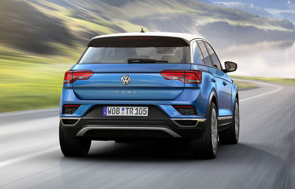 Volkswagen T-Roc: fratele mai mic al lui Tiguan a fost prezentat oficial - Poza 18
