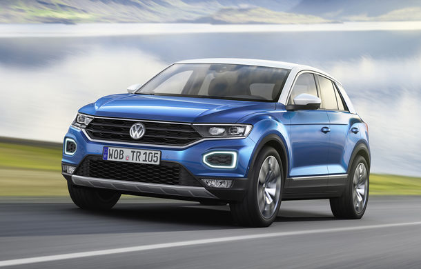Volkswagen T-Roc: fratele mai mic al lui Tiguan a fost prezentat oficial - Poza 17