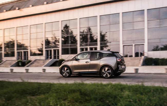 Test drive BMW i3