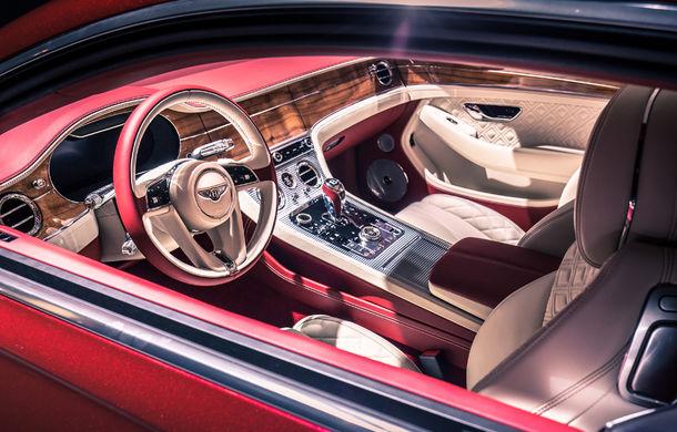 Noul Bentley Continental GT: motor turbo de 6.0 litri și 635 de cai putere și cutie de viteze cu dublu ambreiaj cu 8 trepte (UPDATE FOTO) - Poza 9