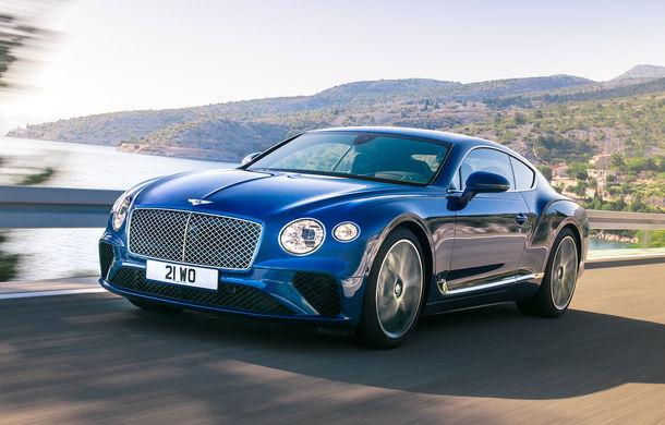 Noul Bentley Continental GT: motor turbo de 6.0 litri și 635 de cai putere și cutie de viteze cu dublu ambreiaj cu 8 trepte (UPDATE FOTO) - Poza 1