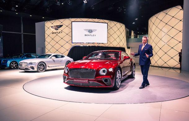 Noul Bentley Continental GT: motor turbo de 6.0 litri și 635 de cai putere și cutie de viteze cu dublu ambreiaj cu 8 trepte (UPDATE FOTO) - Poza 2