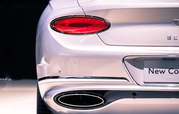 Noul Bentley Continental GT: motor turbo de 6.0 litri și 635 de cai putere și cutie de viteze cu dublu ambreiaj cu 8 trepte (UPDATE FOTO) - Poza 4