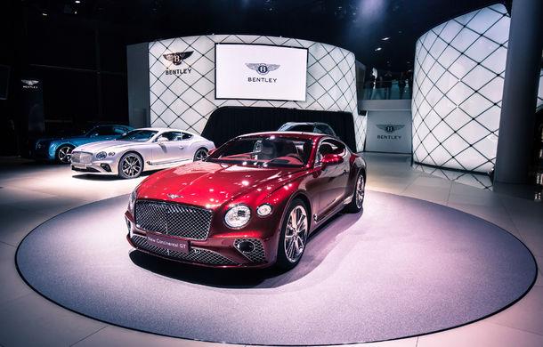 Noul Bentley Continental GT: motor turbo de 6.0 litri și 635 de cai putere și cutie de viteze cu dublu ambreiaj cu 8 trepte (UPDATE FOTO) - Poza 8