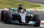 Hamilton, pole position pe ploaie la Monza după o sesiune de întreruptă timp de peste două ore