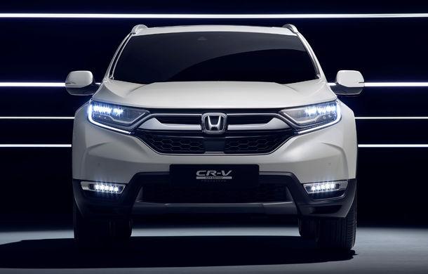 Honda CR-V Hybrid Prototype: noua generație a SUV-ului japonez va avea versiune hibridă și va renunța la propulsia diesel - Poza 2