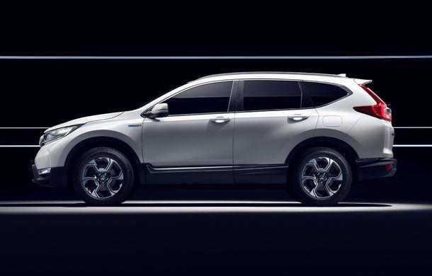 Honda CR-V Hybrid Prototype: noua generație a SUV-ului japonez va avea versiune hibridă și va renunța la propulsia diesel - Poza 3