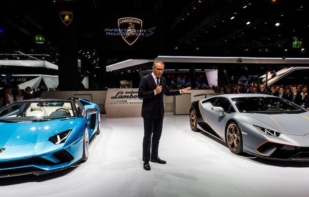Lamborghini prezintă noul Aventador S Roadster: 740 CP și 3.0 secunde pentru 0-100 km/h (UPDATE FOTO) - Poza 6