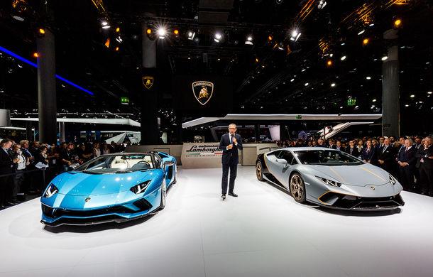Lamborghini prezintă noul Aventador S Roadster: 740 CP și 3.0 secunde pentru 0-100 km/h (UPDATE FOTO) - Poza 7