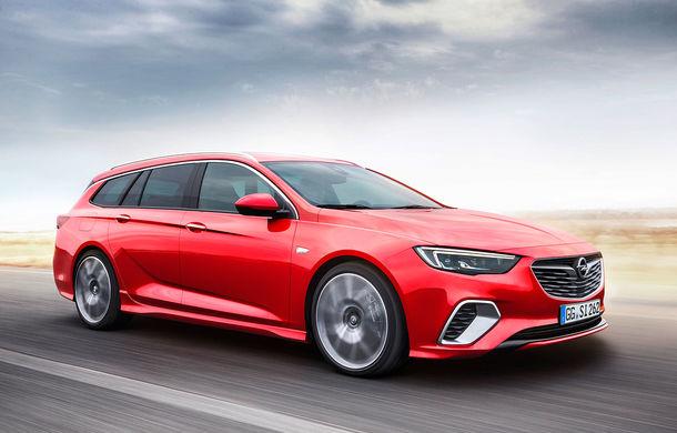 Opel lansează Insignia GSi Sports Tourer: break-ul german vine cu motoare de top și spațiu generos pentru toți pasagerii - Poza 1