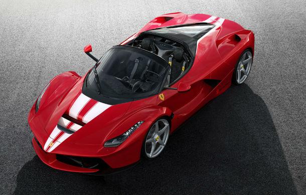 Ferrari LaFerrari Aperta, vândut la licitație cu 8.3 milioane de euro: banii vor fi folosiți în scopuri caritabile - Poza 1