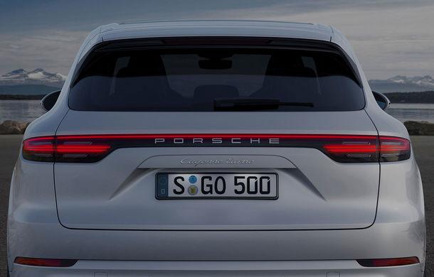 Vârf de lance: Porsche a lansat noul Cayenne Turbo cu 550 de cai putere - Poza 9