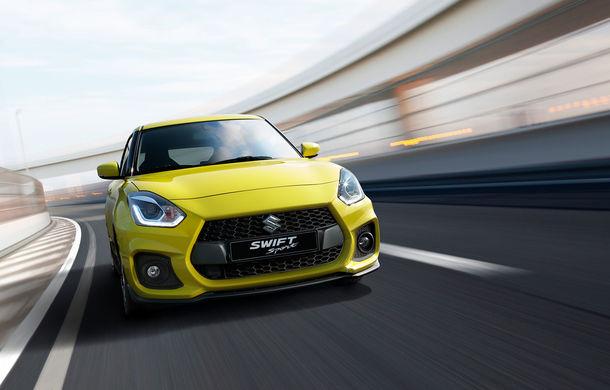 Suzuki a lansat noua generație Swift Sport: 970 de kilograme și motor de 140 de cai - Poza 1