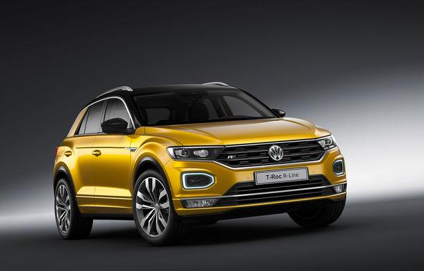 Volkswagen T-Roc R-Line: SUV-ul german primește elemente sportive - Poza 1