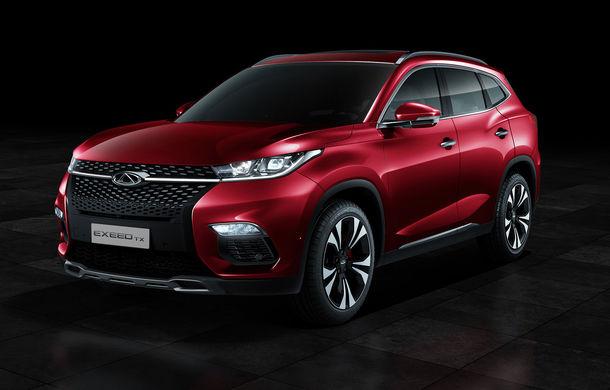 Chinezii de la Chery revin în Europa cu un nou brand: Exeed TX este un SUV plug-in hybrid - Poza 1