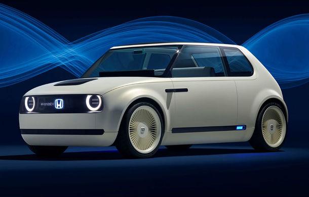 Honda Urban EV: conceptul japonezilor prefigurează un model electric în 2019 - Poza 1